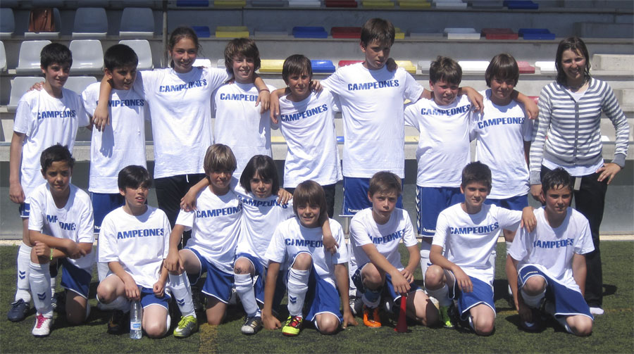 Dream-team Alevín del Torrelodones C.F.