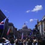 Plaza San Pedro durante la Beatificación de Juan Pablo II