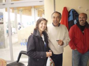 Soledad Pavón, Ángel Lanchas y el padre de Javier Villalba, deportista y actor!