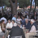 Asistentes a la Fiesta del PP de Torrelodones