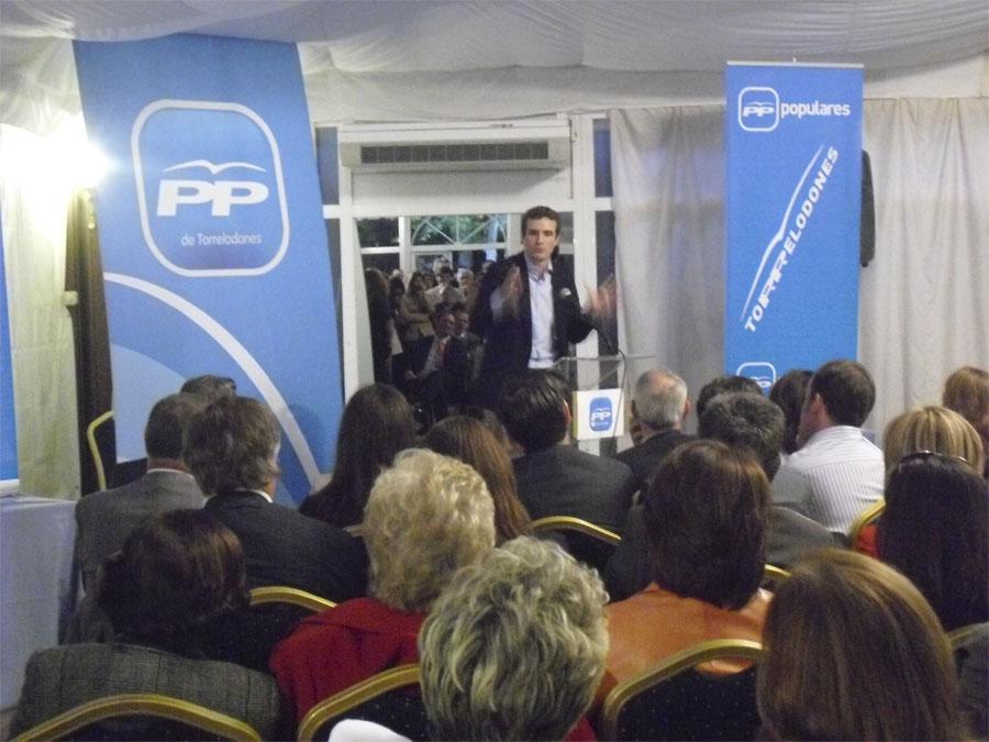 Presentación Candidatos Partido Popular de Torrelodones