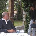 Una de las hijas de Francisco, en su casa de Torrelodones