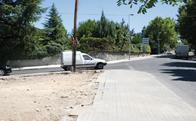 Cruce de Avda. de Torrelodones y calle Jesusa Lara