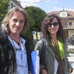 Rubén Díaz y Ana Hurtado, de AcTÚa (Foto de archivo)