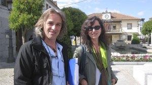 Rubén Díaz y Ana Hurtado de AcTÚa en junio pasado