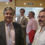 Arturo Martínez Amorós y Miguél Mur, Concejales del PP y de AcTÚa respectivamente.