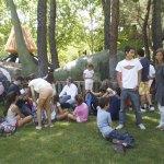 Familias torresanas en el Parque de Atracciones