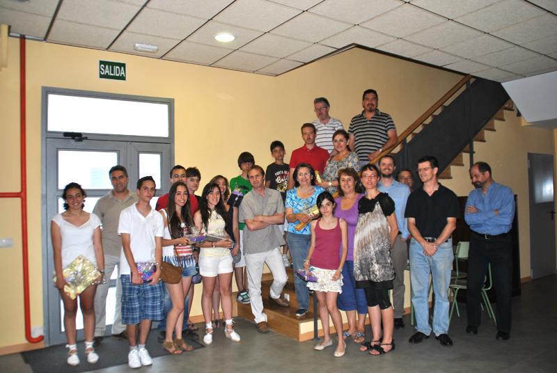 Ganadores Concurso Anual de Redacción de la Escuela Municipal de Idiomas de Torrelodones