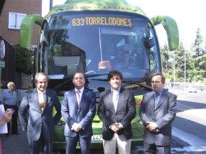 El 633 beneficiará a: Colmenarejo, Galapagar, Torrelodones, Las Rozas y Majadahonda
