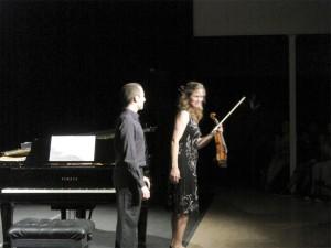 Frederieke Saeijs y Fernando Cruz