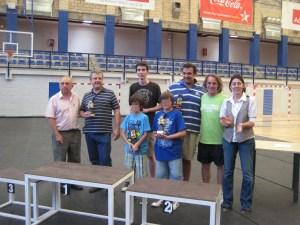 Ganadores adultos e infantiles del Campeonato de Ajedrez de las Fiestas del Carmen de Torrelodones 2011