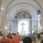 Oración a San Ignacio de Loyola, en la Parroquia de la Colonia de Torrelodones