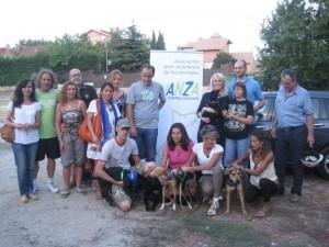 Avanza Torrelodones con adoptantes y autoridades municipales
