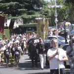 Procesión de la Virgen de la Asunción en Torrelodones 2011
