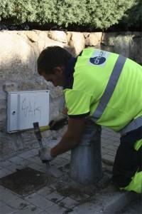 Campaña de mantenimiento del alumbrado público en Torrelodones