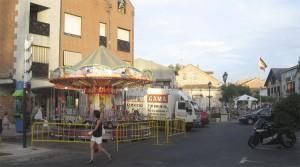 Tiovivo en la Plaza de Torrelodones