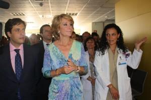 Esperanza Aguirre inauguró el nuevo Centro de Salud de Galapagar