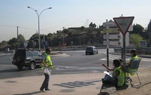 Contabilizando los vehículos y apuntando sus movimientos (PMUS)
