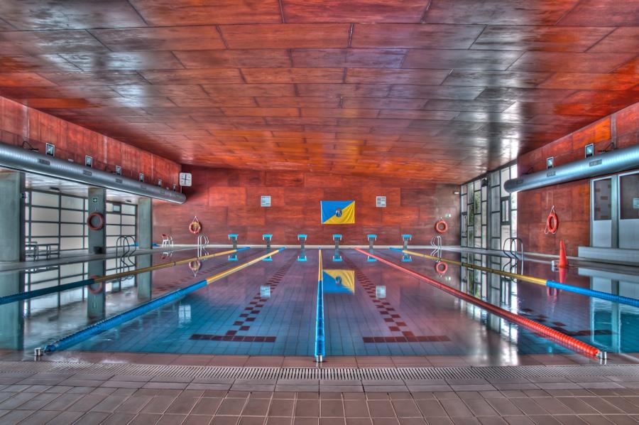 Piscina cubierta Polideportivo de Torrelodones (Foto: juanangelTC.com)