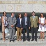 Miembros del Partido Popular de Torrelodones con D. Jaime Sarasola