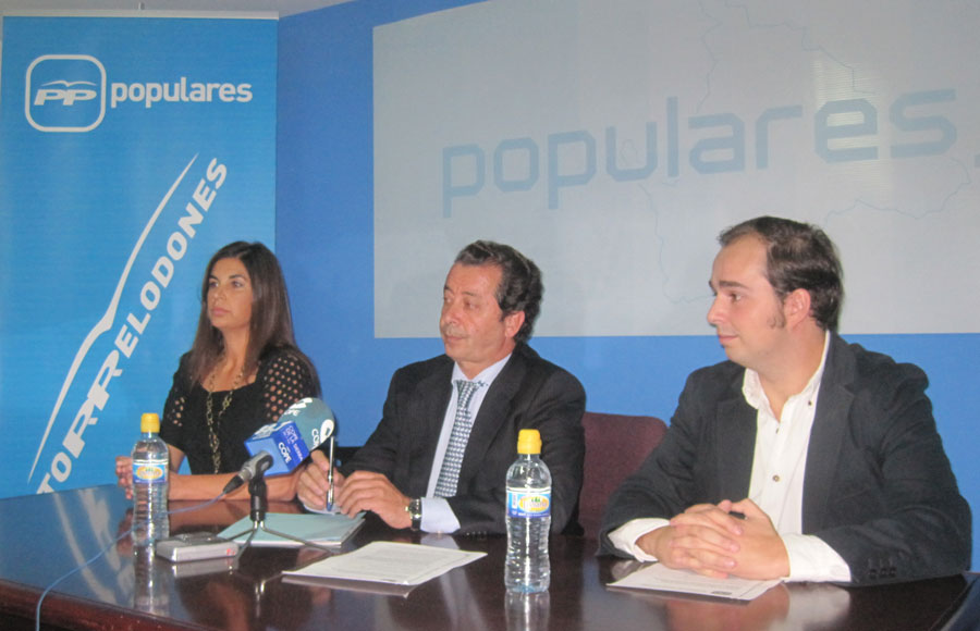 Rueda de Prensa del Partido Popular de Torrelodones (17-10-2011)