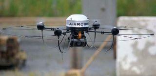 Optocóptero - Foto publicada por el Ayuntamiento de Torrelodones en su muro de Facebook