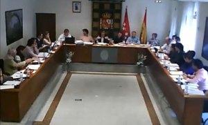 Pleno del Ayuntamiento de Galapagar