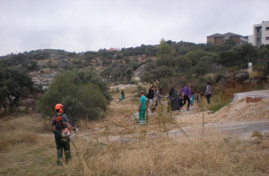 Prevención de Incendios fotografíadía 2-11-2011 aprox. 10hs (Foto: Ayto. Torrelodones)