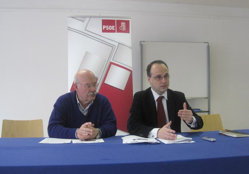 Rueda de Prensa - PSOE Torrelodones - 14-12-2011