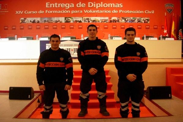 Nuevos voluntarios de Protección Civil de Torrelodones
