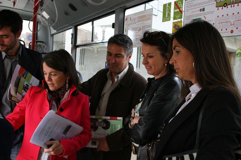 Nuevo autobús de Julián de Castro para Torrelodones
