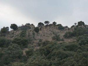 Foto de la base del posible asentamiento