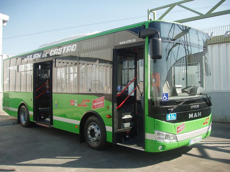 Autobús urbano de Julián de Castro