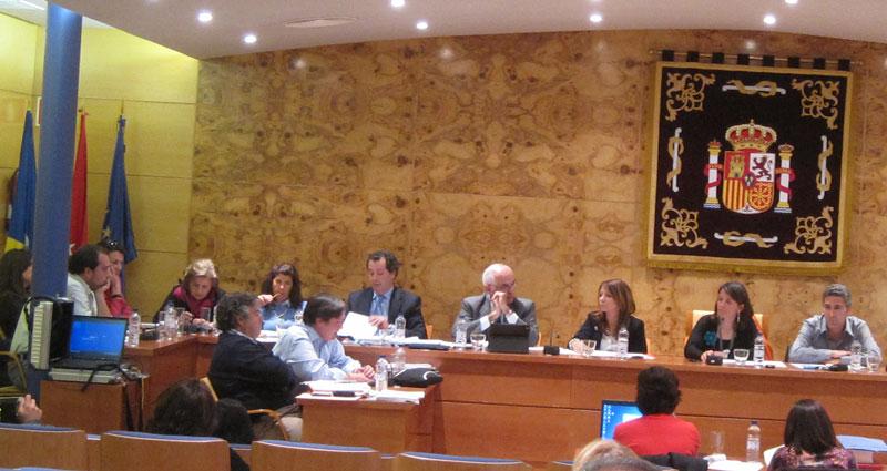 Rubén Díaz, Portavoz de AcTÚa en el Pleno (Foto de Archivo)