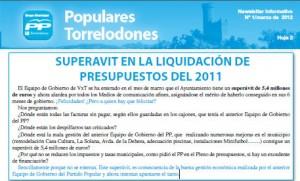 Recorte Newsletter Nº1 Populares Torrelodones
