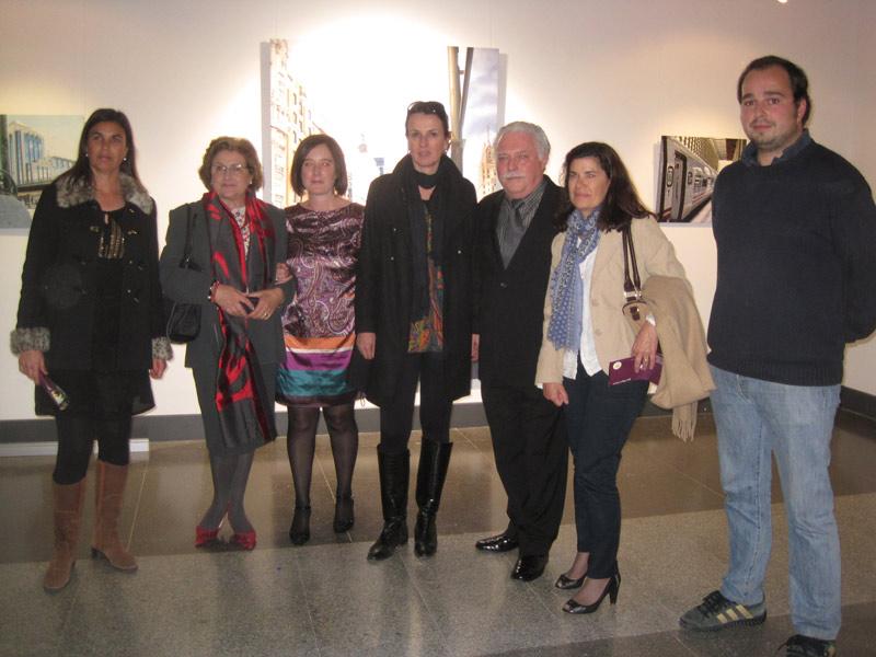La Alcaldesa de Torrelodones, presenta la exposición de José Miguel Palacio