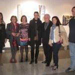 José Miguel Palacio junto a concejales del Partido Popular de Torrelodones