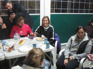 Cumpleaños Rosa Martín en el Minifútbol