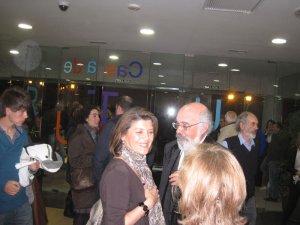 La presidenta del PP de Torrelodones, Gádor Ongil, con Agustín Martínez Tejada