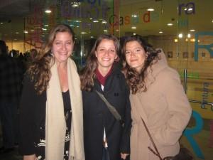 Celia, Elena y Marta Aguadero Carrasco