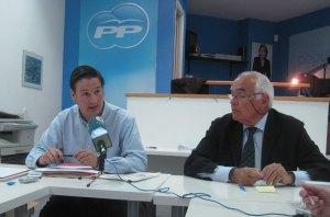 Francisco Carou explicando el Plan