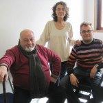Carlos Arias, Beatriz Gaells y Jorge Mora