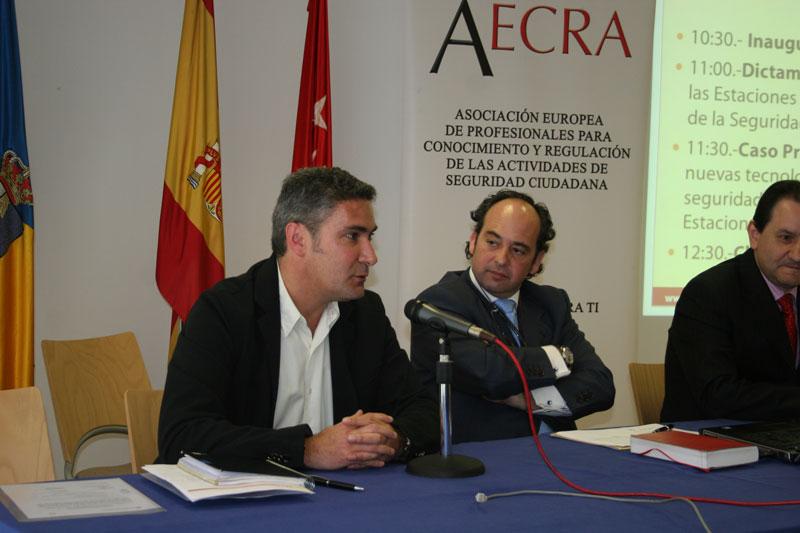 """""""I Jornada AECRA, sobre el régimen jurídico de la seguridad privada y soluciones legales y tecnológicas en las estaciones de servicio y gasolineras"""