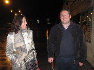 Rosa Rivet y Laurent Nys