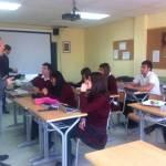Alumnos de bachillerato colegio San Ignacio de Loyola