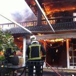 Incendio en la Berzosilla, Torrelodones (Foto: 112Madrid.org)
