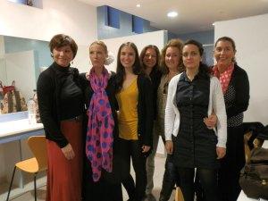 Alumnas de la Escuela de Flamenco El Güito de Torrelodones