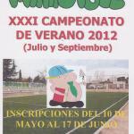 Minifútbol, XXXI Campeonato de Verano 2012