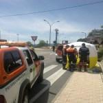 Intervención sanitaria de Protección Civil en Torrelodones