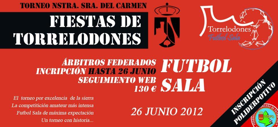 Torneo Fútbol Sala, Fiestas Patronales Ntra. Sra. del Carmen de Torrelodones 2012